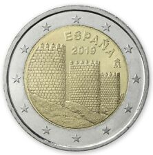 """Spain 2 euro coin 2019 """"Old Town of Avila"""" UNC"""