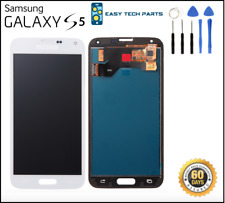 White Samsung Galaxy S5 Screen LCD Assembly Digitizer Replacement Quality UK