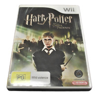Harry Potter and the Order of the Pheonix Nintendo Wii PAL *Complete* Wii U