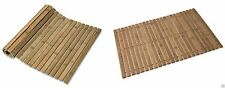 New Stylish Large Folding Bath Mat Bamboo Wooden Duck Board Non Slip Shower Mat