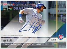 2018 Topps Now Ian Happ Opening Day First HR on First Pitch #1 Auto /99