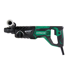 "Hitachi DH26PF 1"" 3-Mode D-Handle SDS Plus Rotary Hammer New"