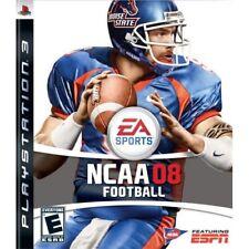 NCAA Football 08 For PlayStation 3 PS3 Very Good 2E