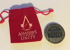Assasins Creed Unity Coin & Pouch Loot Crate Nov. 2014