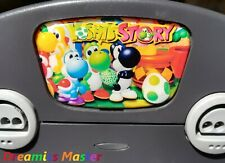 Yoshi's Story, Logo, Badge, Faceplate | For Nintendo 64 Console