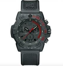 Luminox Navy Seal Chrono CARBONOX Black Dial Rubber Band Men's Watch XS.3581.EY