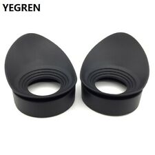Pair Binoculars Rubber Eye Cups 40mm for Telescopes Microscopes Eyepiece Tools