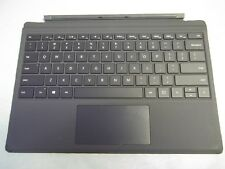 Microsoft Surface Pro 4 or 3 Tablet Black Type 4 Keyboard Tested 100% Working!