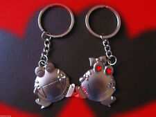 'Love You' Frogs Couples Lovers Keyring Pair Keychains Best Friends valentine