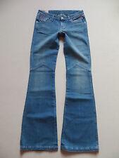 Wrangler BETTY Bootcut Jeans Hose W 28 /L 34, NEU ! Hippie Flare Denim, UNIKAT !