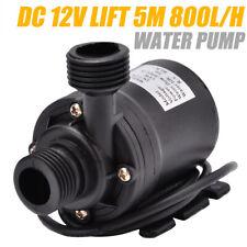 800L/H 12V Ultra Mini Submersible Pump Aquarium Fish Tank Fountain Pumping Water