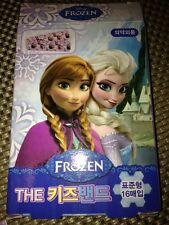 Disney Frozen Band Aids Bandages 16 in pack Pink Purple kids new Made In Korea