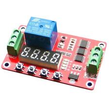 12V DC Self-lock Relay PLC Cycle Timer Module Delay Time Switch V5M2