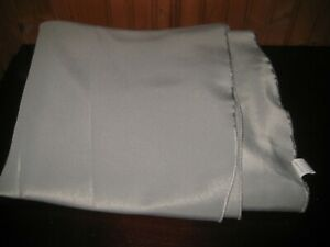 """Soft Dove Gray Fabric Tablecloth 90"""" Round"""