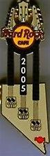 Hard Rock Cafe LAS VEGAS 2005 NEVADA STATE TN 3N GUITAR PIN HRC Catalog #30173