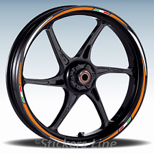 Adesivi ruote moto strisce cerchi per KAWASAKI VERSYS Racing 3 stickers wheel