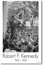 Robert Kennedy - RFK  US Civil Rights Print POSTER