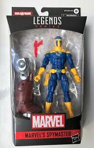 """Marvel Legends Spymaster (Crimson Dynamo BAF) 6"""" Hasbro Action Figure NEW"""