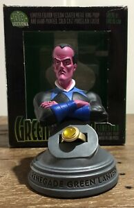 DC Direct Sinestro Bust With Yellow Ring. Green Lantern Series