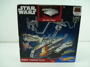 Hot Wheels Star Wars Starship Rebels Transport Attack Play Set