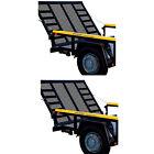 Gorilla Lift 2 Sided Tailgate Utility Trailer Gate & Ramp Lift Assist (2 Pack)