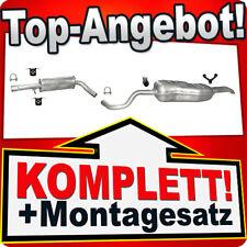 Auspuff VW BORA / VW GOLF IV Variant 1.8 T 2.0 2.3 V5 Auspuffanlage 711C