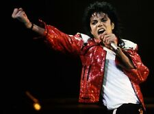MICHAEL JACKSON THRILLER IN CONCERT MUSIC KING OF POP 8X10 PHOTO PICTURE