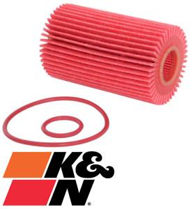 K&N HIGH FLOW CARTRIDGE OIL FILTER FOR LEXUS RC F USC10R 2UR-GSE 5.0L V8