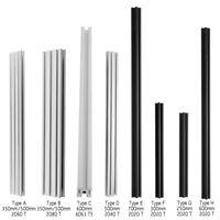 350mm-700mm 2060 T-Slot Aluminum Frame Profiles Extrusion For 3D Printers CNC