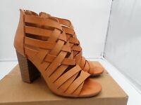Rampage Tariah Sandal - Women's, Brown size 7 M