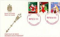 Canada FDC #1339-41 - Christmas (Personages) (1991)  1 x 40¢, 1 x 46¢, 1 x 80¢