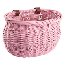 Sunlite Basket Ft Willow Bushel Pnk Strap-On 13X8X9
