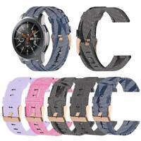 22mm Nylon Watch Band Strap for Samsung Galaxy Watch 46mm/Garmin Active