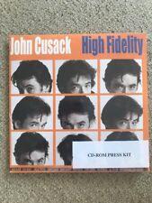 High Fidelity (John Cusack) Cd Rom press kit - Brand New Factory Sealed