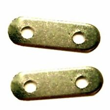 100 pcs 2 Hole Iron Spacer Bars Findings - Bronze - A5662