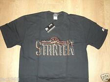 Genuine Starter Trickskool Tee T-Shirt Top Black Crew Neck Cotton S M L New BNWT