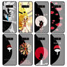 Naruto Anime Tempered Glass Case for Samsung Galaxy S20 S10 S9 S8 S7 Note 10 9 8
