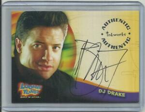 "2003 Looney Tunes: Back in Action (Inkworks) BRENDAN FRASER ""Autograph Card"" #A1"