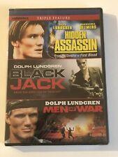 Dolph Lundgren Triple Threat DVD Hidden Assassin Blackjack Men Of War