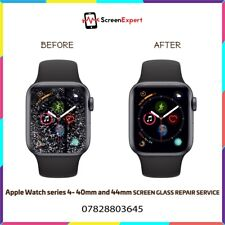 Apple Watch Series 1,2,3,4 - 38mm 42mm 40mm 44mm Cracked Screen LCD Glass Repair