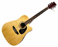 Kip Moore Autographed Signed Acoustic Guitar With Proof AFTAL UACC RD COA