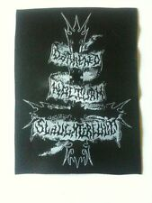 DARKENED NOCTURN SLAUGHTERCULT patch 11 x 8 cm woven sew on fleck buy 3 get 4