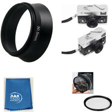 30.5mm Metal Lens Hood Shade For Rollei 35S 35SE HFT 40mm f/2.8 Sonnar Camera ++
