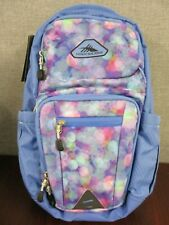 "NWT High Sierra 22L Everyday Backpack - Blue - Holds 15"" Laptop - Light weight"