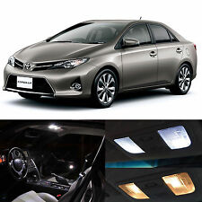 6x 2013-up Toyota Corolla White LED Package Interior Light Kit JAH
