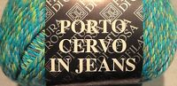 1 Skein Filatura Di Crosa Porto Cervo In Jeans Yarn Color 107 50g 88y Cotton