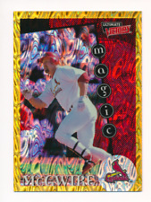 Mark McGwire 1999 Ultimate Victory Parallel 1/1 Missing Serial Number #166