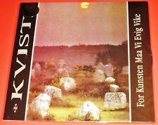 KVIST : PER kunsten maa vi evig vike LP DISCO IN VINILE 2013 PEACEVILLE GERMANIA