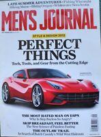 Mens Journal September 2012 Sytle & Design 2012 Perfect Things Magazine