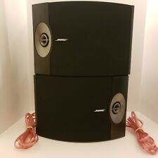 Bose 301V Direct/Reflecting Speaker System - Black w/ 2 10.5' Monster XP Cords